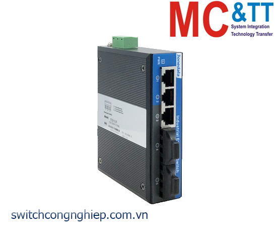 IES215-2F: Switch công nghiệp 3 cổng Ethernet + 2 cổng quang 3Onedata