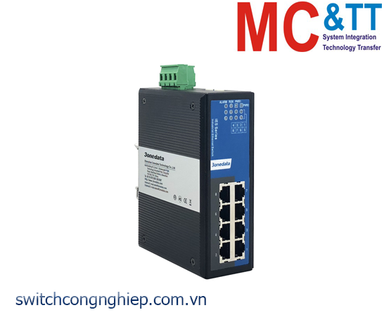 IES318: Switch công nghiệp 8 cổng Ethernet 3Onedata