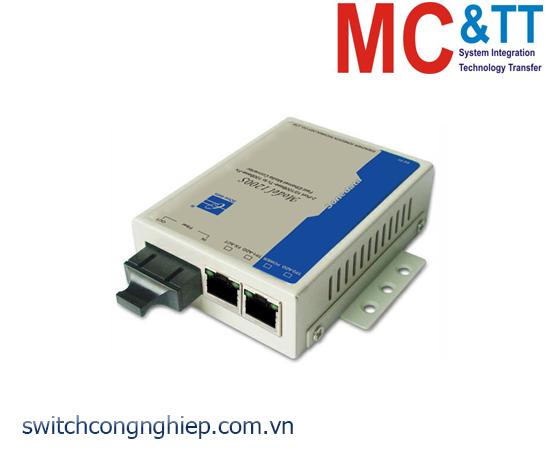 Model1200: Bộ chuyển đổi quang điện 2 cổng Ethernet + 1 cổng quang 3Onedata