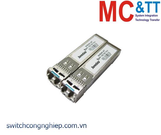 Module quang SFP công nghiệp 10G, 1 sợi Quang TX1330/RX1270, Single-Mode, 10KM LC 3Onedata SWB8045I-342