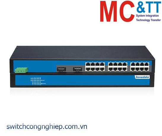 ES1026-2F: Switch không quản lý 24 cổng Ethernet + 2 cổng quang 3Onedata