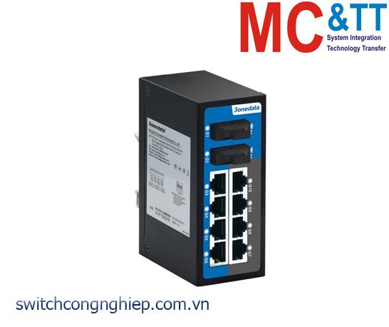 ES2010G-2GF: Switch không quản lý 8 cổng Gigabit Ethernet + 2 cổng Gigabit quang 3Onedata