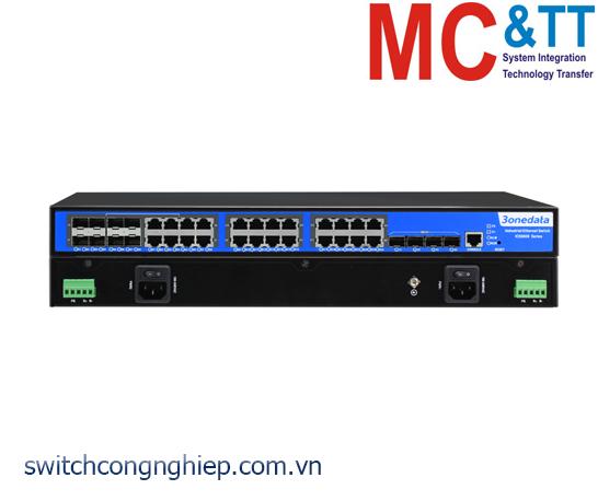 ICS5028G-4XGS-8GC: Switch công nghiệp quản lý Layer 3 16 cổng Gigabit Ethernet + 4 cổng quang 10Gb SFP + 8 cổng Combo Gigabit SFP 3Onedata