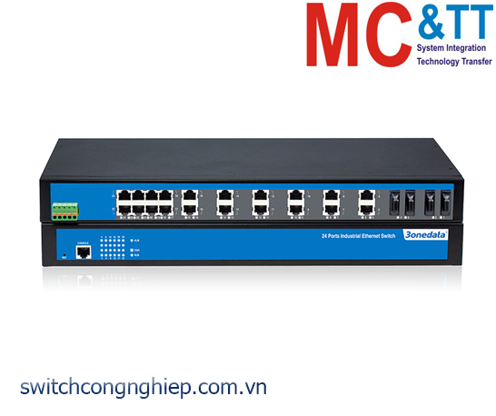 IES1024-2F: Switch công nghiệp 22 cổng Ethernet + 2 cổng quang 3Onedata