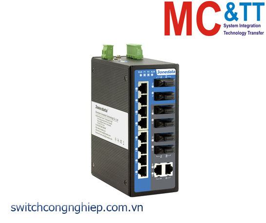 IES3016-6F: Switch công nghiệp 10 cổng Ethernet + 6 cổng quang 3Onedata