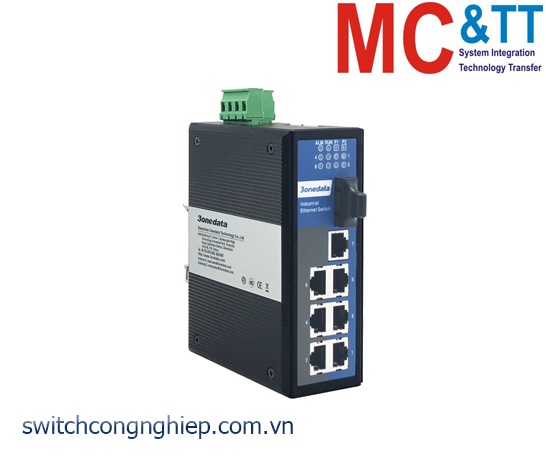 IES318-1F: Switch công nghiệp 7 cổng Ethernet + 1 cổng quang 3Onedata