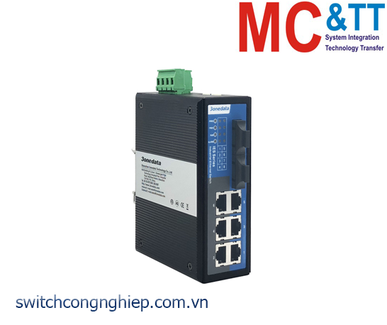 IES318-2F: Switch công nghiệp 6 cổng Ethernet + 2 cổng quang 3Onedata
