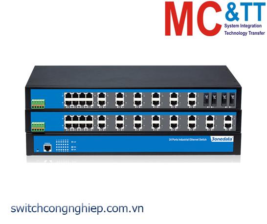 IES5024-20F: Switch công nghiệp quản lý 4 cổng Ethernet + 20 cổng quang 3Onedata