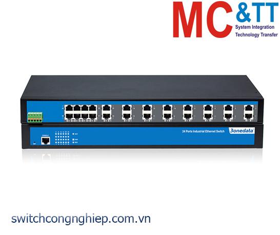 IES5024: Switch công nghiệp quản lý 24 cổng Ethernet