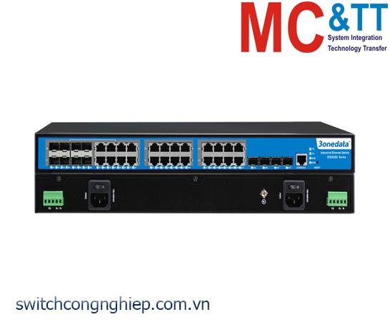 IES5028G-4GS-8GC: Switch công nghiệp quản lý 16 cổng Gigabit Ethernet + 4 cổng Gigabit SFP + 8 cổng quang Combo Gigabit SFP 3Onedata