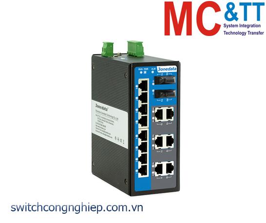 IES6116-2F: Switch công nghiệp quản lý 14 cổng Ethernet + 2 cổng quang 3Onedata