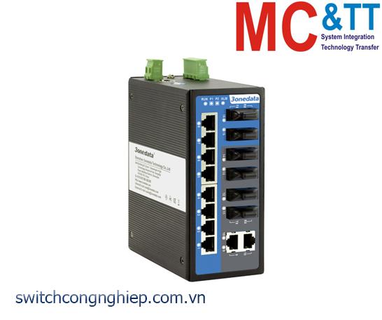IES6116-6F: Switch công nghiệp quản lý 10 cổng Ethernet + 6 cổng quang 3Onedata
