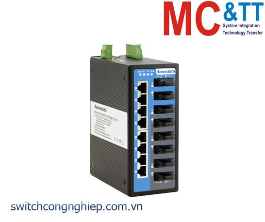 IES6116-8F: Switch công nghiệp quản lý 8 cổng Ethernet + 8 cổng quang 3Onedata
