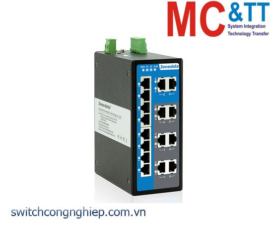 IES6116: Switch công nghiệp quản lý 16 cổng Ethernet