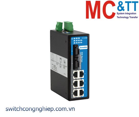 IES618-2F: Switch công nghiệp quản lý 6 cổng Ethernet + 2 cổng quang 3Onedata