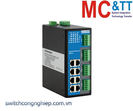 IES618-4DI(RS-485): Switch công nghiệp quản lý 8 cổng Ethernet + 4 cổng RS-485/422 3Onedata
