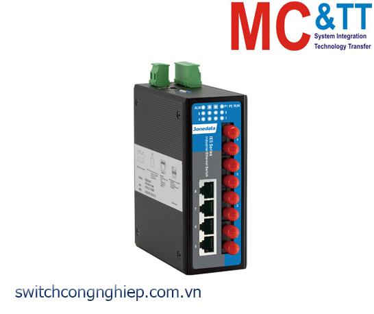 IES618-4F: Switch công nghiệp quản lý 4 cổng Ethernet + 4 cổng quang 3Onedata