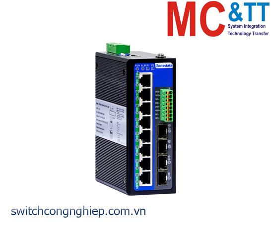 IES6300-8GT2GS2HS-P220: Switch công nghiệp quản lý 8 cổng Gigabit Ethernet +2 cổng quang Gigabit SFP + 2 cổng quang 2.5G SFP 3Onedata
