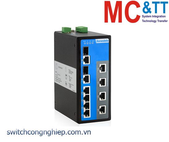 IES7110-2GC: Switch công nghiệp quản lý 8 cổng Ethernet + 2 cổng Combo Gigabit SFP 3Onedata