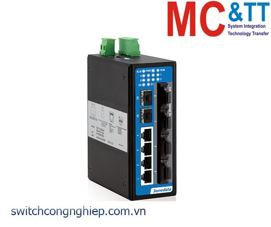 IES7110-2GS-4F: Switch công nghiệp quản lý 4 cổng Ethernet + 4 cổng quang + 2 cổng quang Gigabit SFP 3Onedata