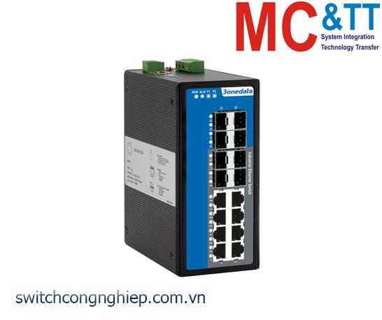 IES7116G-8GS: Switch công nghiệp quản lý 8 cổng Gigabit Ethernet + 8 cổng quang Gigabit SFP 3Onedata