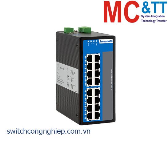 IES7120G-16GT: Switch công nghiệp quản lý 16 cổng Gigabit Ethernet 3Onedata