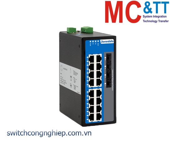 IES7120G-4GS: Switch công nghiệp quản lý 16 cổng Gigabit Ethernet + 4 cổng quang Gigabit SFP 3Onedata