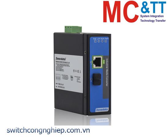 IPMC101-1S-POE: Bộ chuyển đổi quang điện PoE công nghiệp 1 cổng PoE Ethernet + 1 cổng SFP 3Onedata