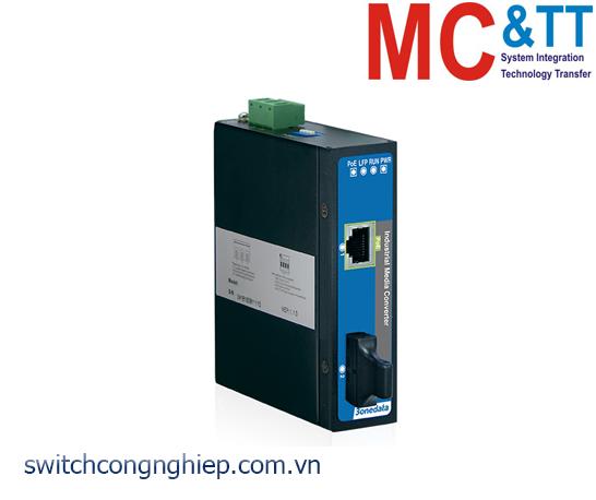 IPMC101-F-POE: Bộ chuyển đổi quang điện PoE công nghiệp 1 cổng PoE Ethernet + 1 cổng quang 3Onedata