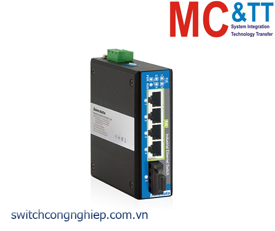 IPS215-1F-4POE: Switch công nghiệp 4 cổng PoE Ethernet + 1 cổng quang 3Onedata