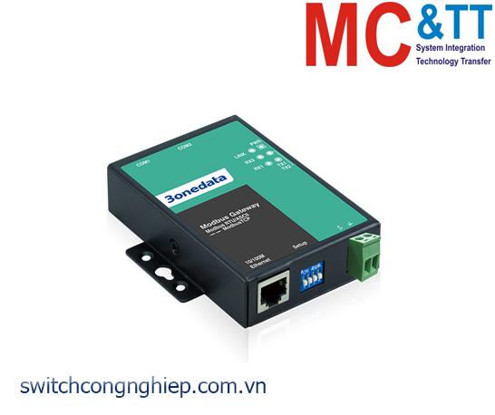 GW1102-2DI-(3IN1): Modbus Gateway 2 cổng RS-232/485/422 sang Ethernet 3Onedata