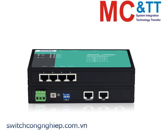 GW1104-4D(3IN1)-RJ45: Modbus Gateway 4 cổng RS-232/485/422 sang Ethernet