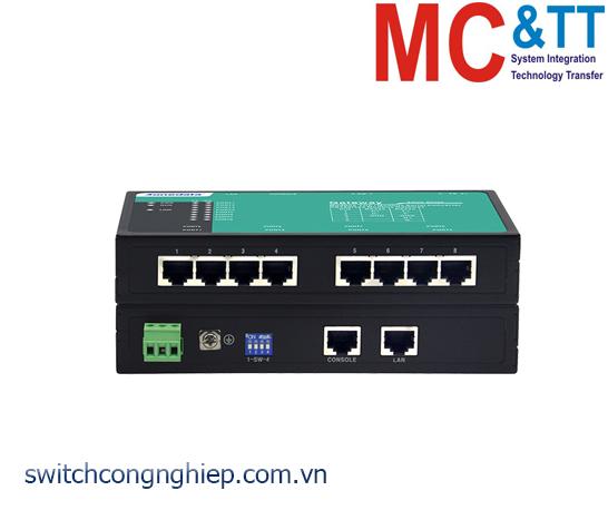 GW1108-8D(3IN1)-RJ45: Modbus Gateway 8 cổng RS-232/485/422 sang Ethernet