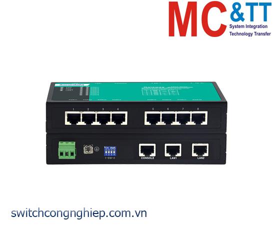 GW1118-8D(3IN1)-RJ45: Modbus Gateway 8 cổng RS-232/485/422 sang 2 cổng Ethernet