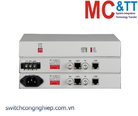 MODEL7211A: Bộ chuyển đổi Ethernet sang E1