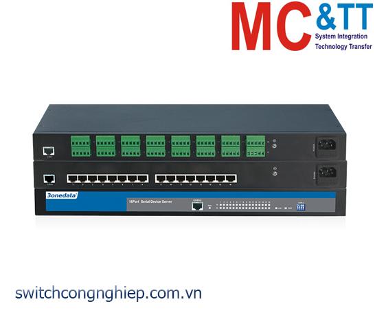NP3016T-16DI(RS-485): Bộ chuyển đổi 16 cổng RS-485/422 sang Ethernet Rackmount