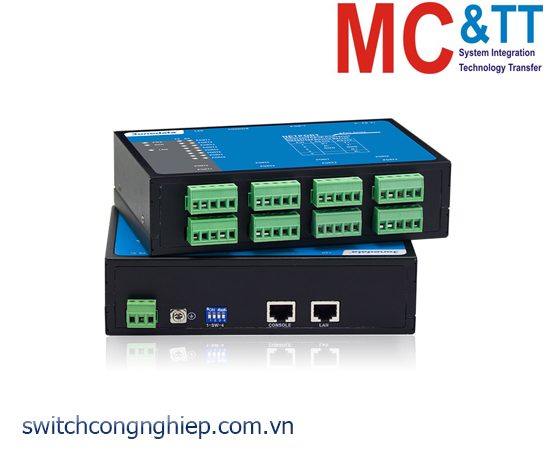 NP308T-8DI(RS-485): Bộ chuyển đổi 8 cổng RS-485/422 sang Ethernet 3Onedata