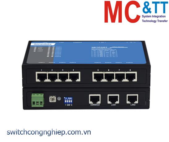 NP318T-8D(3IN1)-RJ45: Bộ chuyển đổi 8 cổng RS-232/485/422 sang 2 cổng Ethernet 3Onedata