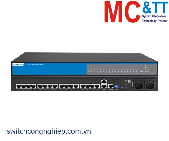 NP5100-2T-16DI(3IN1)-RJ: Bộ chuyển đổi 16 cổng RS-232/485/422 sang Ethernet Rackmount