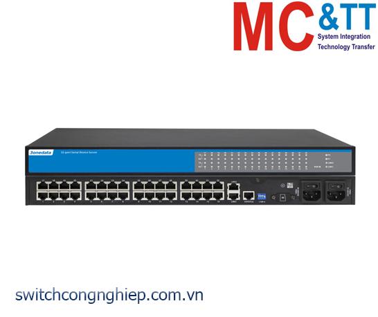NP5100-2T-32DI(3IN1)-RJ: Bộ chuyển đổi 32 cổng RS-232/485/422 sang Ethernet Rackmount