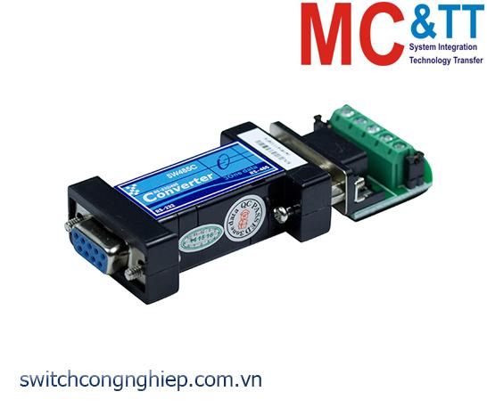 SW485C: Bộ chuyển đổi tín hiệu RS-232 sang RS-485/422 3Onedata