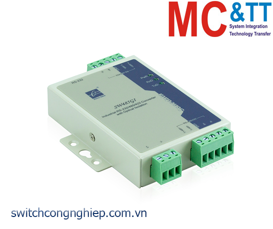 SW485GI: Bộ chuyển đổi và lặp tín hiệu RS-232/485/422