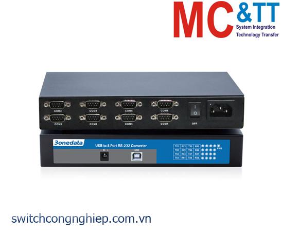 USB8232I: Bộ chuyển đổi USB sang 8 cổng RS-232