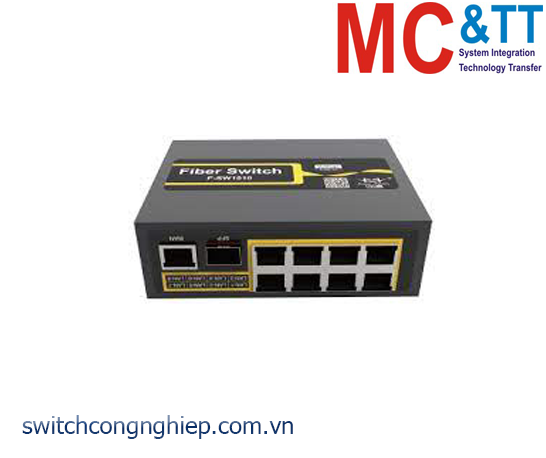 F-SW1010-SF: Switch công nghiệp 8 cổng Ethernet, 1 cổng WAN, 1 cổng Gigabit SFP Four-Faith