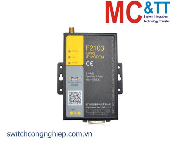 F2103: Industrial GPRS IP Modem Four-Faith