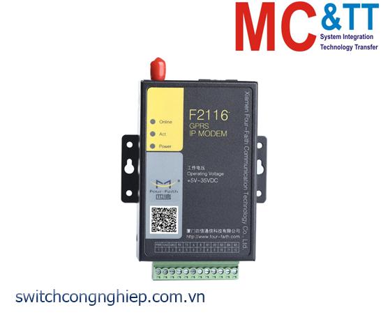 F2116: GPRS IP MODEM (GPRS DTU) Four-Faith