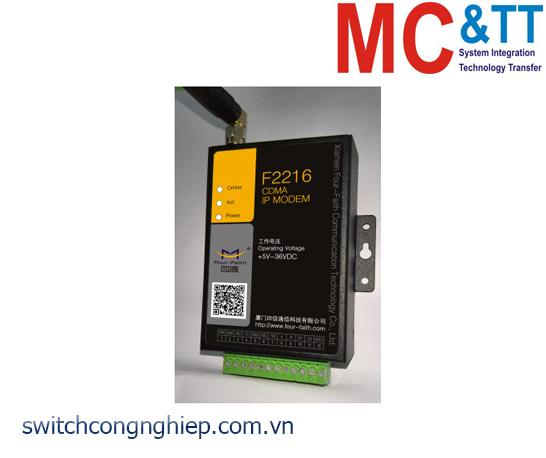 F2216: CDMA IP MODEM (CDMA DTU) Four-Faith