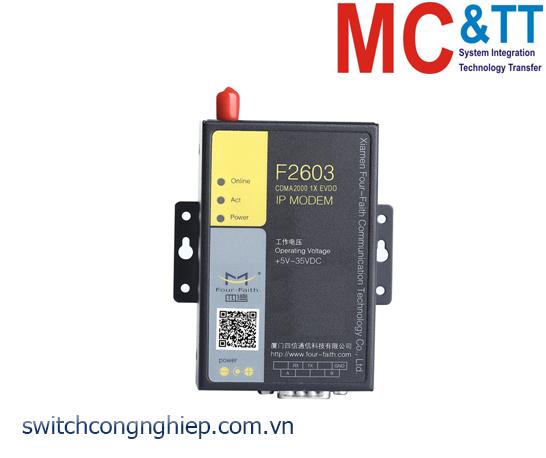 F2603: Industrial EVDO IP Modem Four-Faith