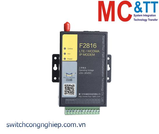 F2816: FDD-LTE IP MODEM (4G DTU) Four-Faith