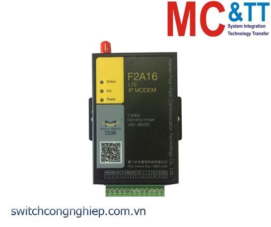 F2A16: LTE IP MODEM Four-Faith